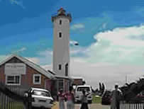 North Sand Bluff Lighthouse Complex in Port Edward KZN South Coast